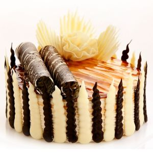 Celebrate With White Forest Cake